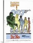 Dr. No - Vintage Movie Poster Canvas Art Print $47.49 USD on eBay