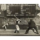 Cleveland Indians' Bob Feller pitching to New York Yankees' Joe DiMaggio Wall on Ebay