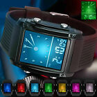 Men's Sport Army Military Alarm Calendar Dual 50M Waterproof Digital Wrist Watch image