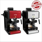 Mr. Coffee Café 20 Ounce Steam Automatic Red Espresso & Cappuccino Machine
