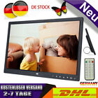 15 Zoll 1280x800 Bilderrahmen TFT HD Touchscreen Digitaler Wecker Movie Player