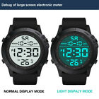 Men's Fashion  Military Sports Watch LED Digital 5 ATM Round Wrist Watches image