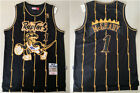 Tracy Mcgrady #1 Toronto Raptors Classic Black Throwback Swingman Jersey