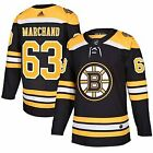 Brad Marchand 63 Boston Bruins Black  Yellow Hockey Jersey