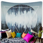 US Stock Tapestry Art Bedroom Wall Hanging Throw Art Forest Printed Tapestries