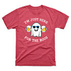 I'm Just Here for The Boos Funny Halloween T-Shirt Costume Men's Tee Gift