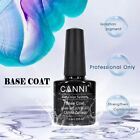 CANNI® UV Nail Gel Polish Soak Off LED Base Matte Tempered Top Coat - FULL RANGE