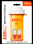 *NEW* 100% Authentic Addall XR - Brain Booster Supplement-Focus/Memory 12 pack $18.95 USD on eBay