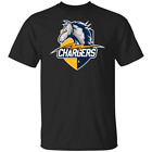 LOS ANGELES CHARGERS NCAA Black T-shirt For Women Men S 2XL $18.95 USD on eBay