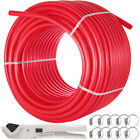 """1"""" x 300ft PEX Tubing/Pipe Non Oxygen Barrier Potable Water With Clamp & Cutter"""