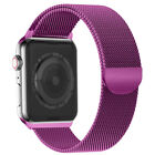 For Apple Watch Series 5 4 3 2 1 Magnetic Milanese Loop Wristwatch Bands Strap
