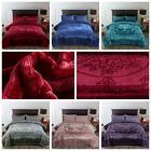 9LB Flannel Fleece Blanket heavyweight Cozy Couch Bed Blanket Pure color  image