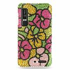 For Motorola Droid 3 Hard Plastic Bling Prective Case Cover