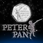 """RARE Worlds 1st 2019 Peter Pan 50p Coin - """"All 6 Designs"""" Uncirculated Coin Hunt"""