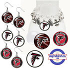FREE DESIGN > ATLANTA FALCONS -Earrings, Pendant, Charm, Keyring <FAST SHIP> $2.99 USD on eBay