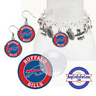 FREE DESIGN > BUFFALO BILLS -Earrings, Pendant, Charm, Keyring, Cabs <FAST SHIP> $2.99 USD on eBay
