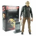 NECA Friday The 13th Jason Pamela Voorhees Action Figure Final Chapter 3D mask
