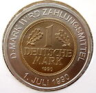 GERMANY D-MARK WIRD ZAHLUNGSMITTEL 1990 UNC Bimetallic Token With COA YY2.5
