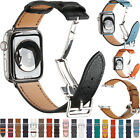 Leather Watch Band Strap Herme Belt Single Tour for Apple Watch Series 654321
