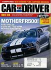 Car and Driver December 2006 Mustang FR500GT, Mars Rover, Bently Continental GTC