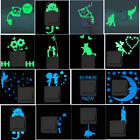 Luminous Glow In The Dark Switch Wall Sticker Fluorescent Decal Home Room Decor