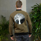 Bomber Jacket with Scary tree design