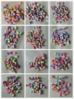 50 - 300 Multi-Coloured Acrylic Design Beads 18 designs Jewellery & Craft Making