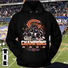 2018 NFC North Division Champions Chicago Bears NFL Football Hoodie Men S-5XL $49.77 USD on eBay