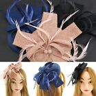 Fashion Women Girl Fascinator Hat For Bridal Wedding Tea Shower Party 3 Colors