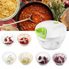 Fruit Vegetable Onion Garlic Cutter Food Speedy Chopper Spiral Slicer Shredder