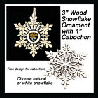FREE DESIGN > JACKSONVILLE JAGUARS - Snowflake Ornament, Natural or White $6.99 USD on eBay