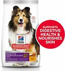 Hill's Science Diet Dry Dog Food, Adult,Sensitive Stomach & Skin, Chicken Recipe