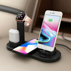 3 in 1 Charging Dock Charger Stand For Apple Watch Series/AirPods iPhone Station