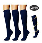 Copper Compression Socks (3 Pairs), 15-20 mmHg is Best Athletic & Medical for...