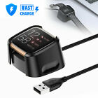 Charger Replacement USB Charging Cable Dock Stand For Fitbit Versa 2 Smart Watch