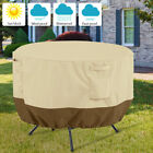 Garden Round Table Cover Waterproof Patio Furniture Set Outdoor Large Small Au
