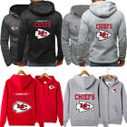 Kansas City Chiefs Hoodie Football Hooded Sweatshirt Fleece Coat Gift For Fans $23.74 USD on eBay
