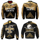 New Orleans Saints Bomber Jacket Flying Tigers Flight Thicken Coat Gift for Fans $51.29 USD on eBay