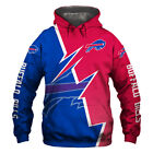 2019 Buffalo Bills Football Team Hoodie Hooded Sweatshirt Jacket gift for fan $29.44 USD on eBay