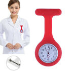 Fashion Pocket Watches Silicone Nurse Watch Brooch with Pin/Clip Tunic Fob Watch