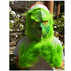 Kyпить The Grinch Full Head Latex Mask Wig And Xmas Hat Monster Adult Costume XMAS Prop на еВаy.соm