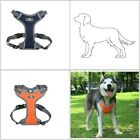 Pet Big Dog Harness Soft Reflective No Pull Harness for Large Medium XL Dogs