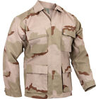 New US Military Three Color Desert Camo Shirt Jacket Blouse ( Choice of Sizes )