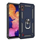 For Samsung Galaxy Note10+S10 S9 Armor Shockproof Magnetic Ring Stand Case Cover