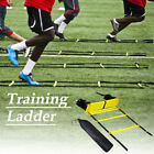 Rungs Speed Agility Ladder Soccer Football Sports Training Exercise Equipment US