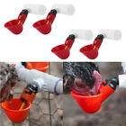 4 Pack Poultry Water Drinking Cups-Chicken Hen Plastic Automatic Drinker Kits