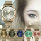 New Fashion Women Watch Stainless Steel Analog Quartz Dress Bracelet Wrist Watch image