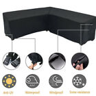 V-shap Patio Sofa Cover Furniture Cover Garden Lounge Couch Outdoor Protector