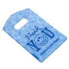 50Pcs Pretty Plastic Letter Thank You Jewelry Craft Packaging Carrier Gift BagDS