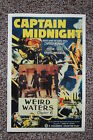 Captain Midnight Lobby Card Movie Poster Wired Waters